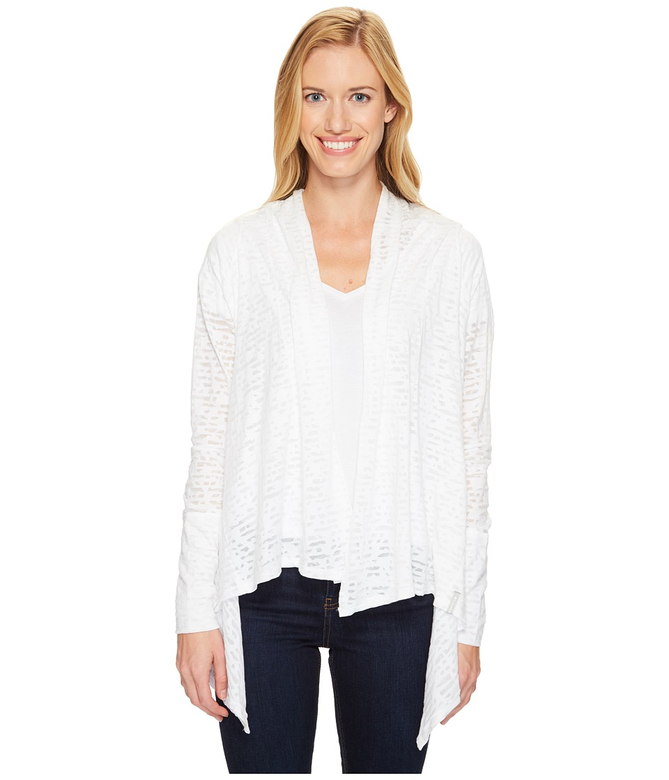 Columbia - Inner Luminosity II Wrap (White Burnout) Women's Sweater