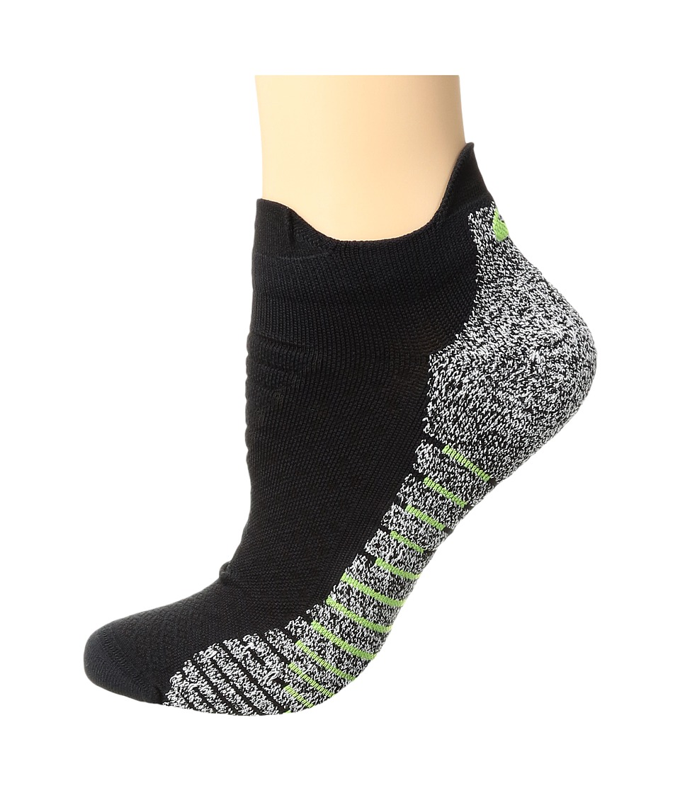 Nike NIKEGRIP Lightweight Low Training Socks (Black/Volt) Women