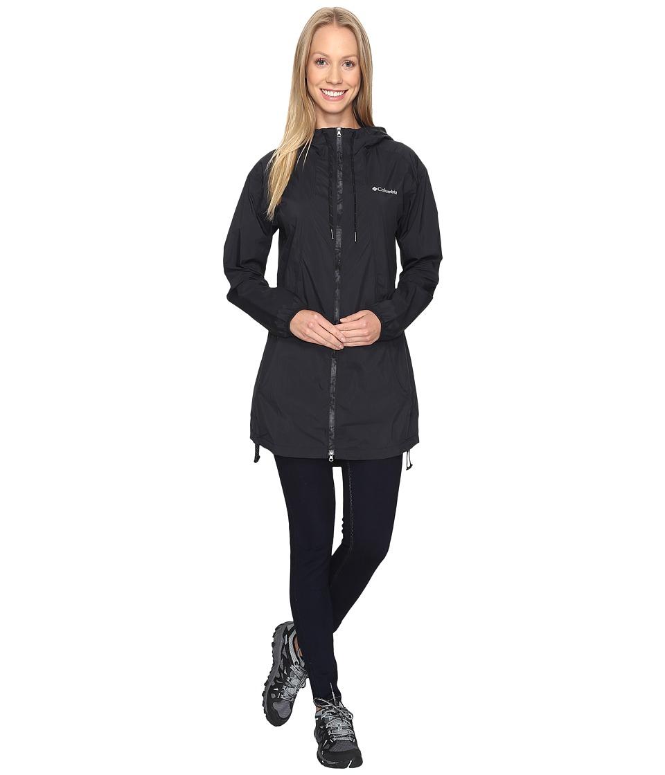 Columbia - Athena Long Jacket (Black) Women's Coat