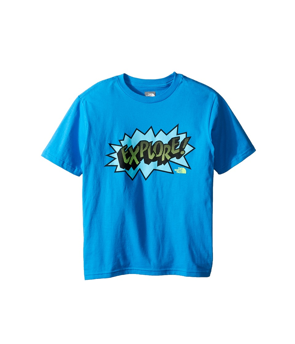 The North Face Kids - Short Sleeve Graphic Tee (Little Kids/Big Kids) (Clear Lake Blue (Prior Season)) Boy's Clothing