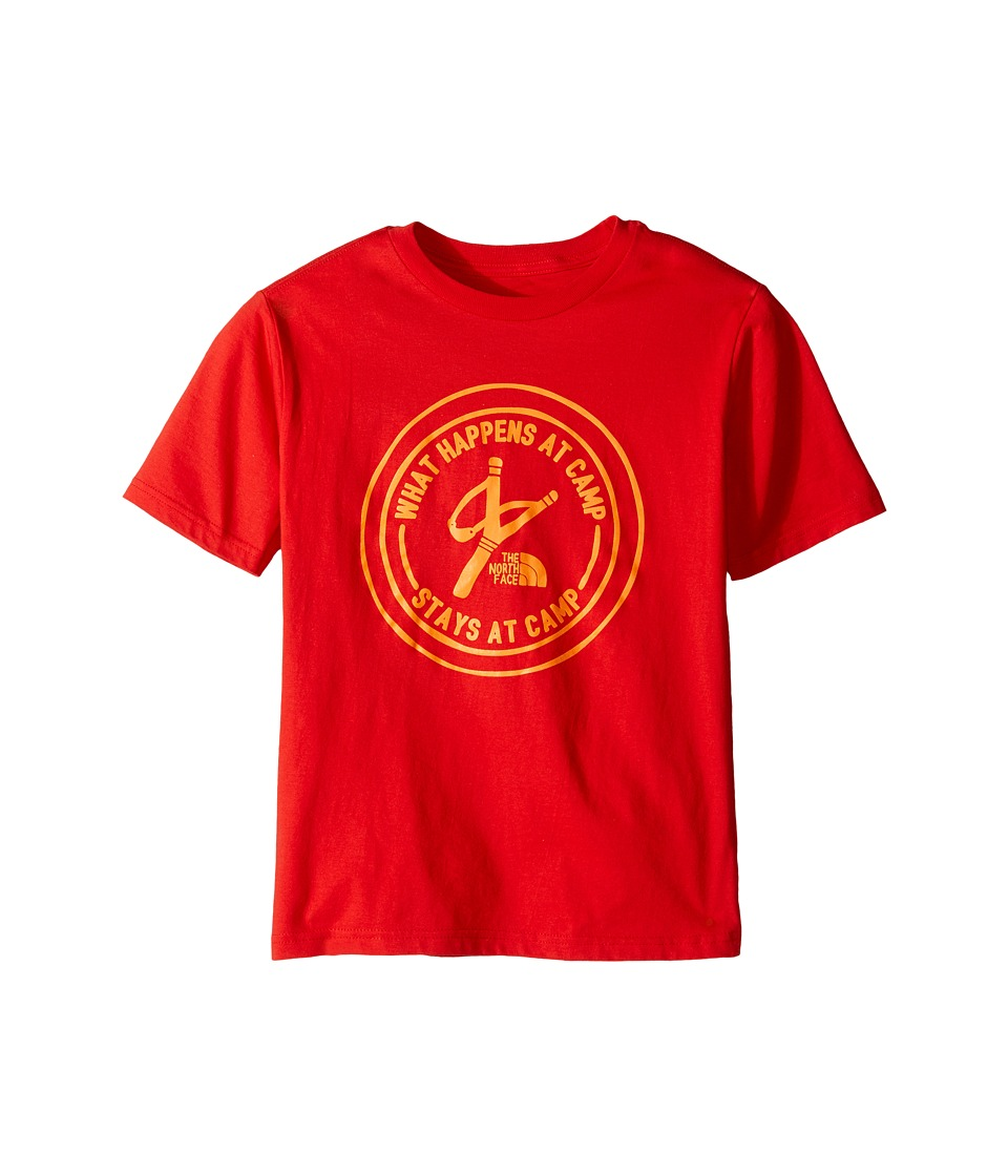 The North Face Kids - Short Sleeve Graphic Tee (Little Kids/Big Kids) (High Risk Red (Prior Season)) Boy's Clothing