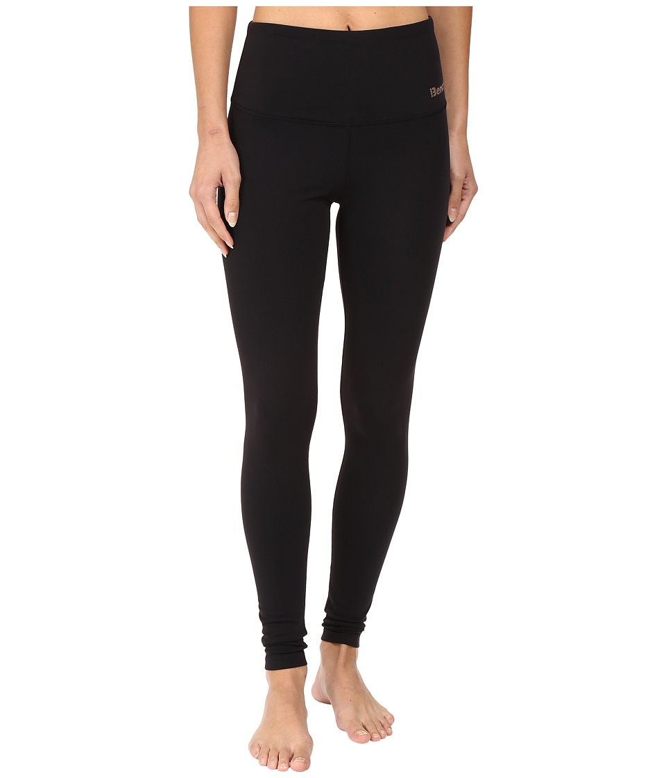 Bench - Dominant High Waisted Leggings (Jet Black) Women's Casual Pants