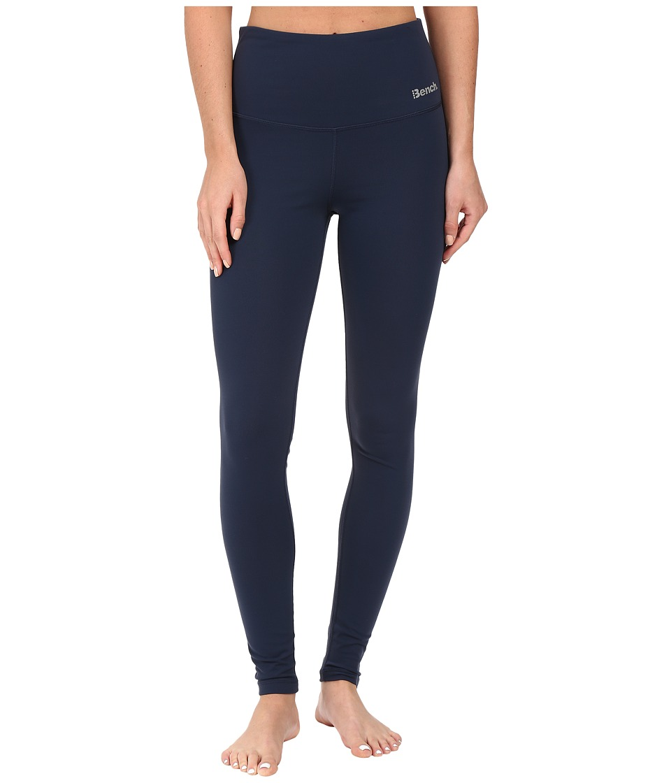 Bench - Dominant High Waisted Leggings (Dress Blues) Women's Casual Pants