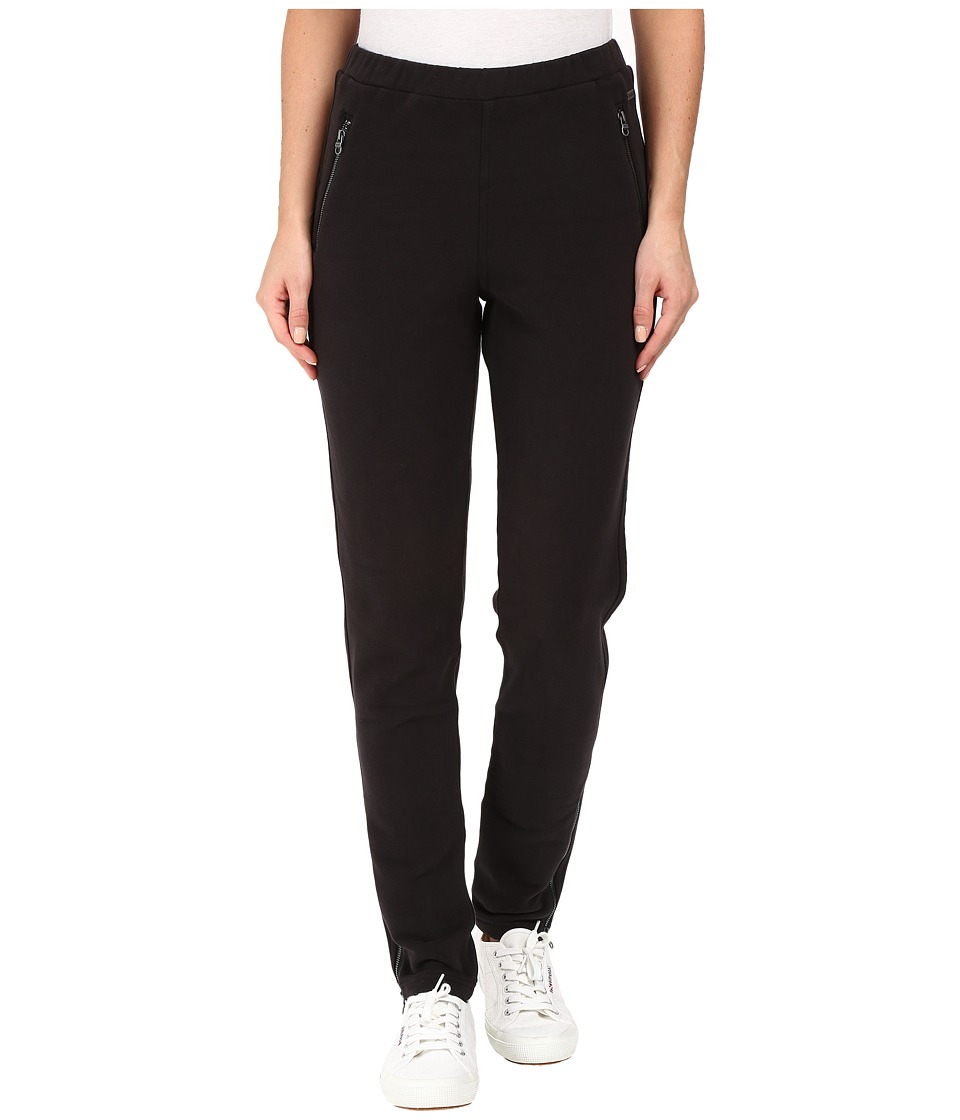 Bench - Pedagogic Slim Sweatpants (Jet Black) Women's Casual Pants