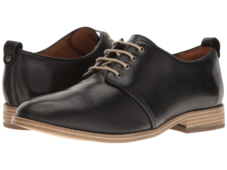 Clarks - Zyris Toledo (Black Leather) Women's Shoes