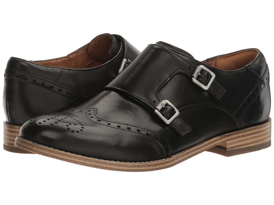 Clarks - Zyris Vienna (Black Leather) Women's Shoes