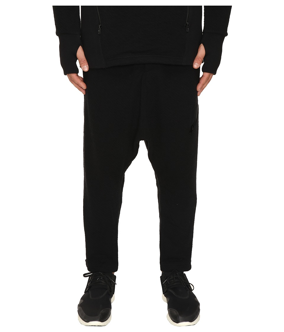 adidas Y-3 by Yohji Yamamoto - Double Jersey Pants (Black) Men's Casual Pants