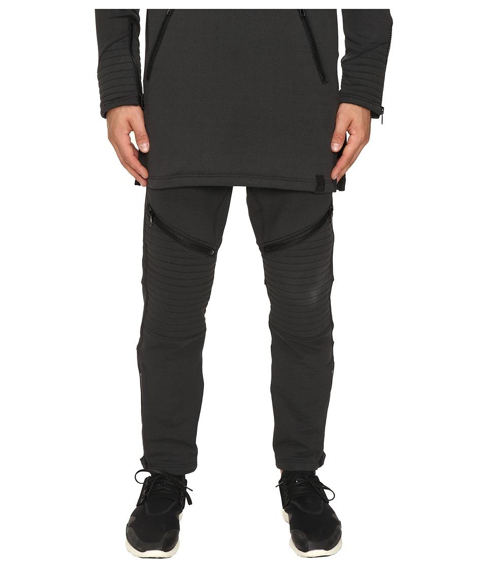 adidas Y-3 by Yohji Yamamoto - Tecfleece Sweatpants (Black) Men's Casual Pants