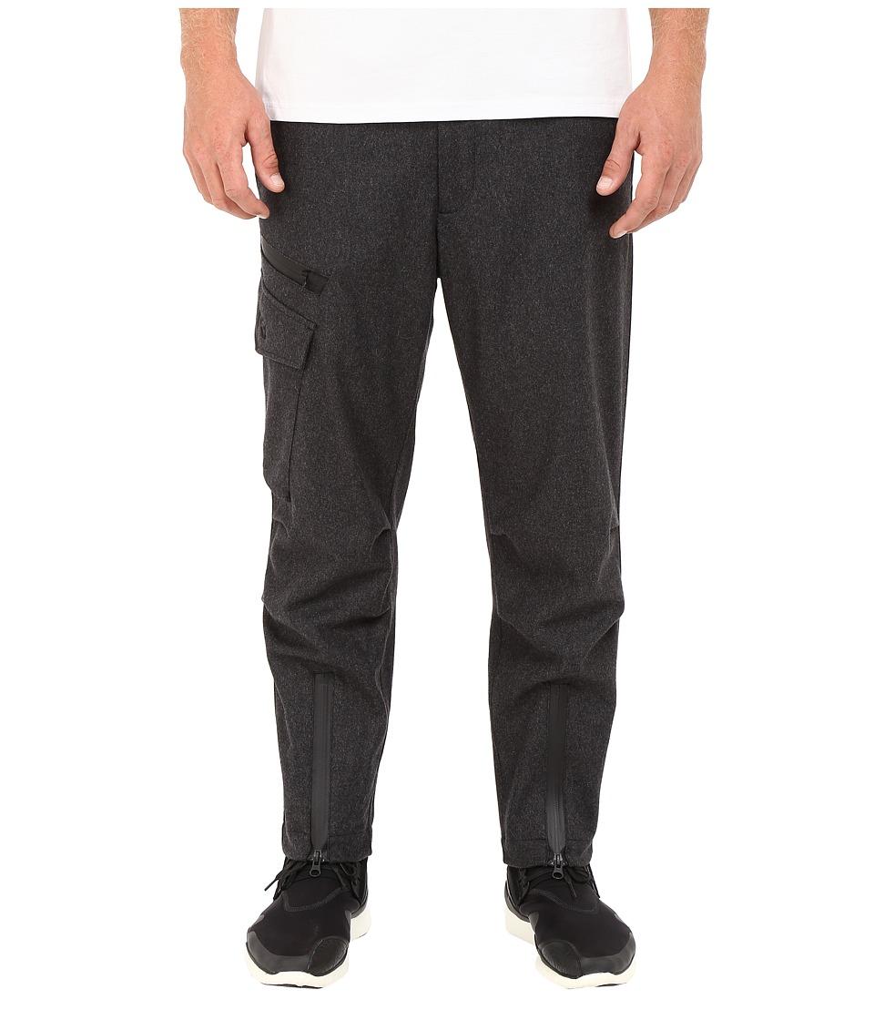 adidas Y-3 by Yohji Yamamoto - FL Utility Cargo (Charcoal Melange) Men's Casual Pants
