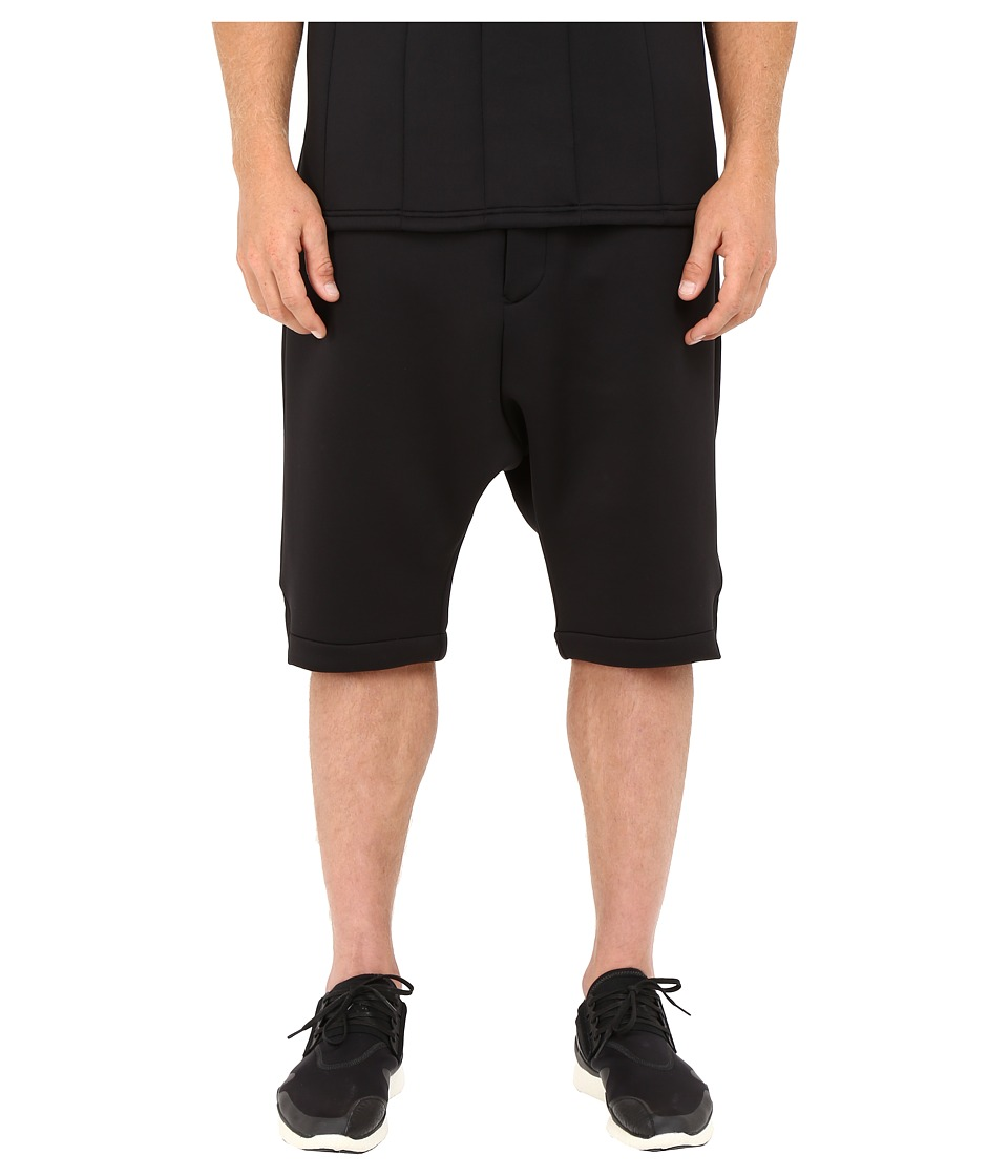 adidas Y-3 by Yohji Yamamoto - Spacer Shorts (Black) Men's Shorts