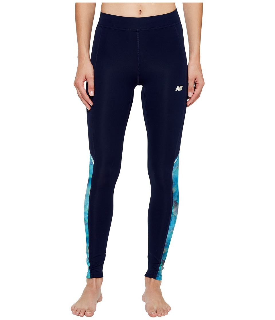 New Balance Accelerate Tights (Bleached Sunrise) Women