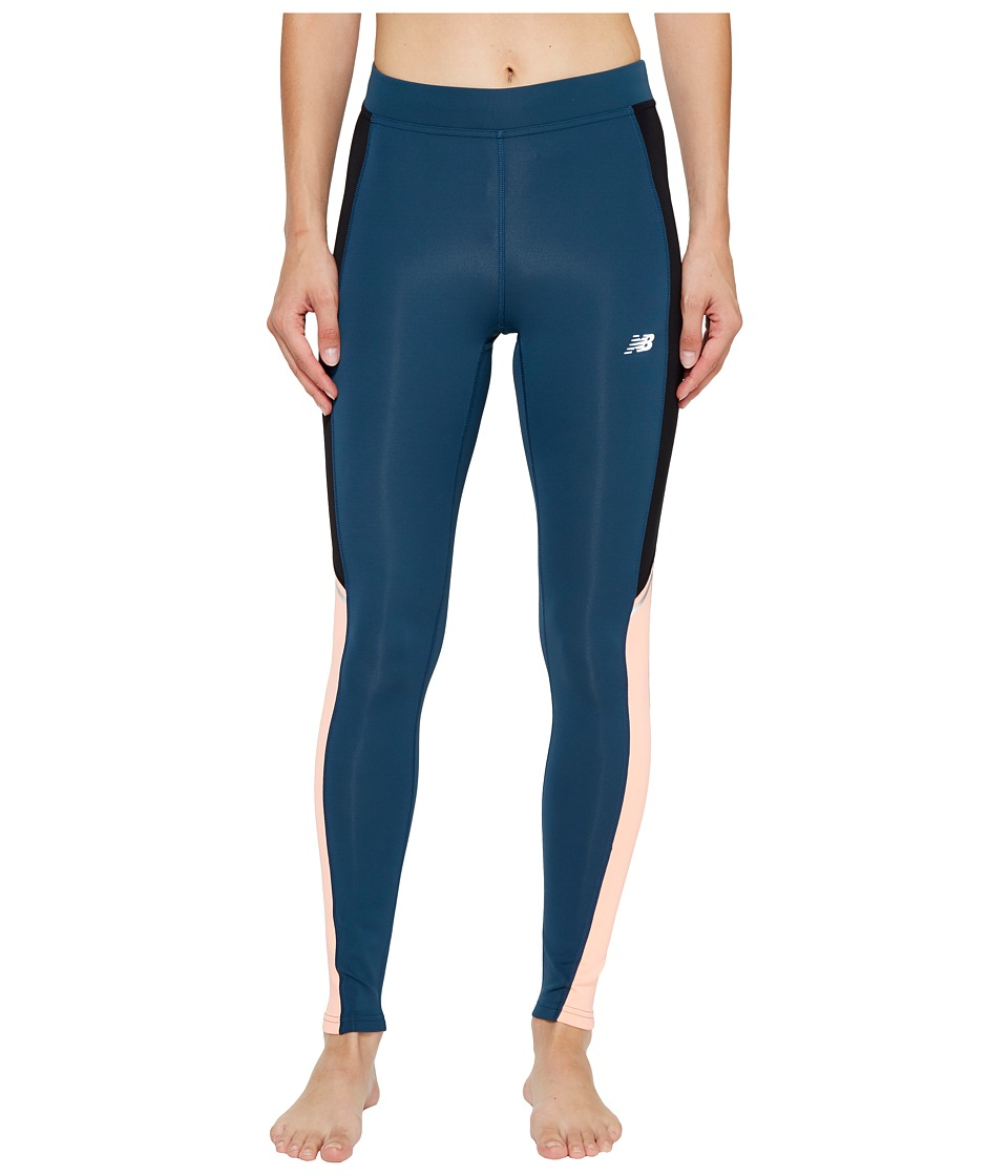 New Balance - Printed Accelerate Tights (Cosmic Plaid) Women's Workout