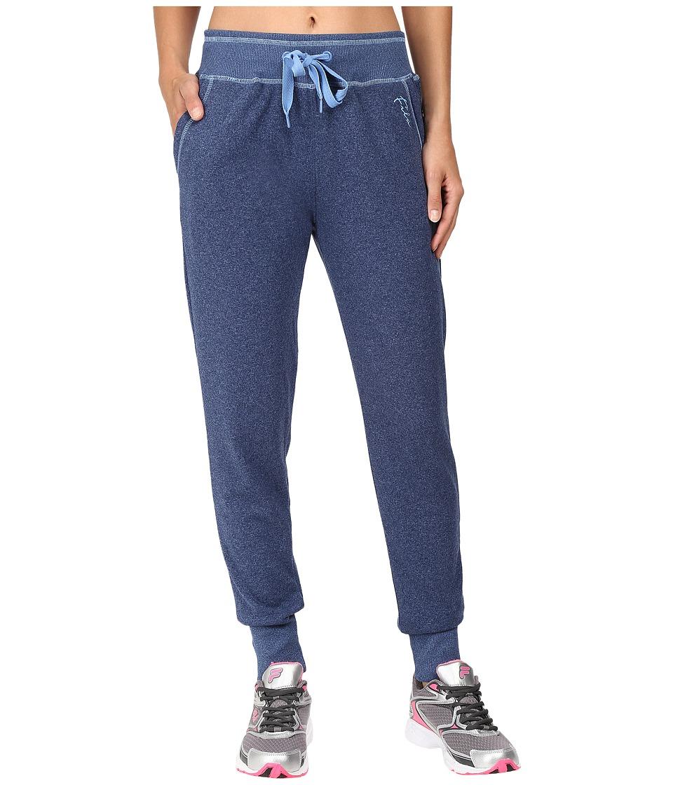 Fila - Tie Downy Fleece Pants (Estate Blue/Provence) Women's Casual Pants