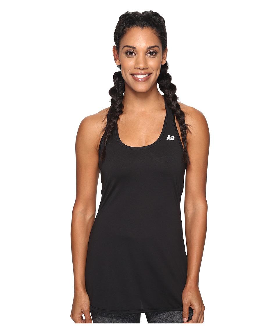 New Balance - Accelerate Tunic (Black) Women's Sleeveless
