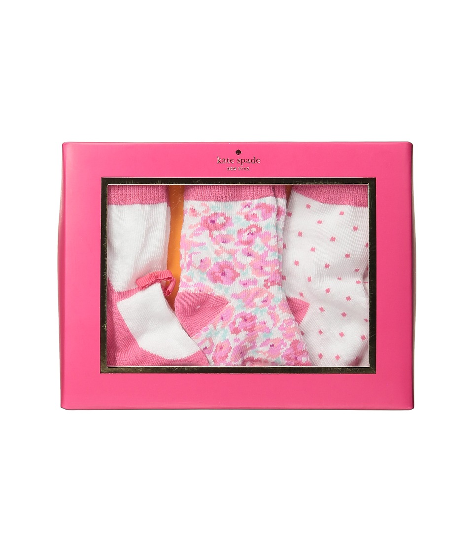 Kate Spade New York Kids - Tickled Pink Loungewear Set (Infant) (Ditzy Field) Girl's Active Sets