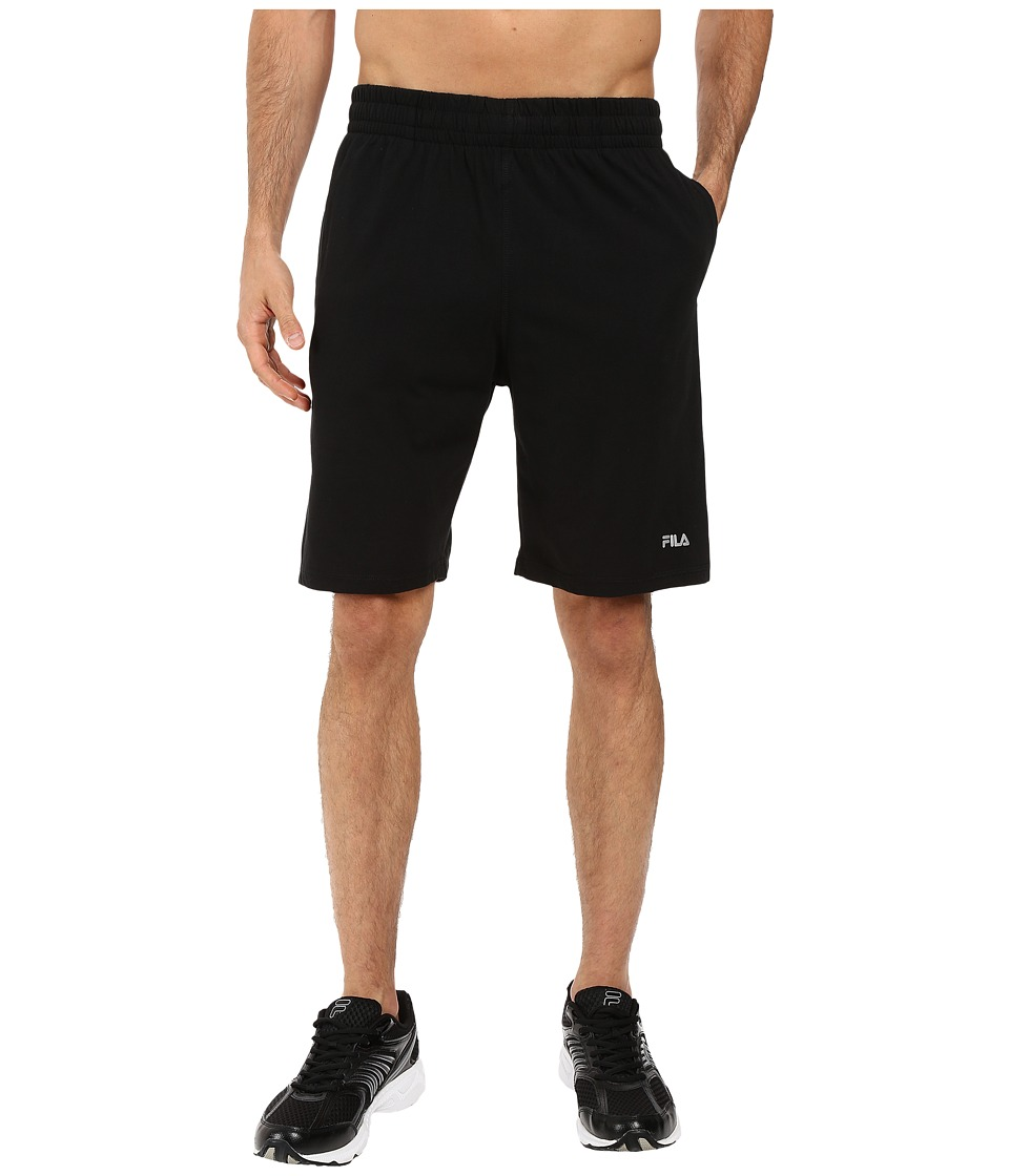 Fila - Basic Jersey Shorts (Black) Men's Shorts