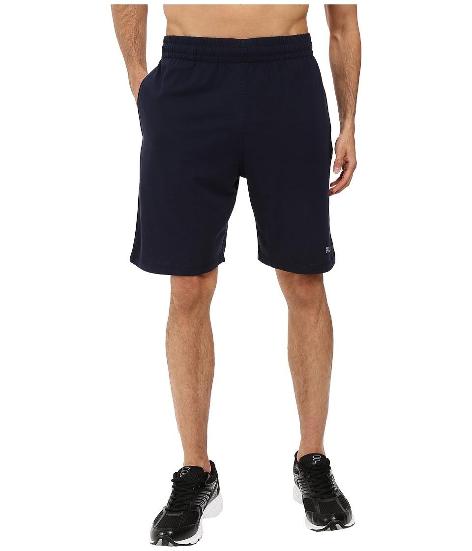 Fila - Basic Jersey Shorts (Peacoat) Men's Shorts