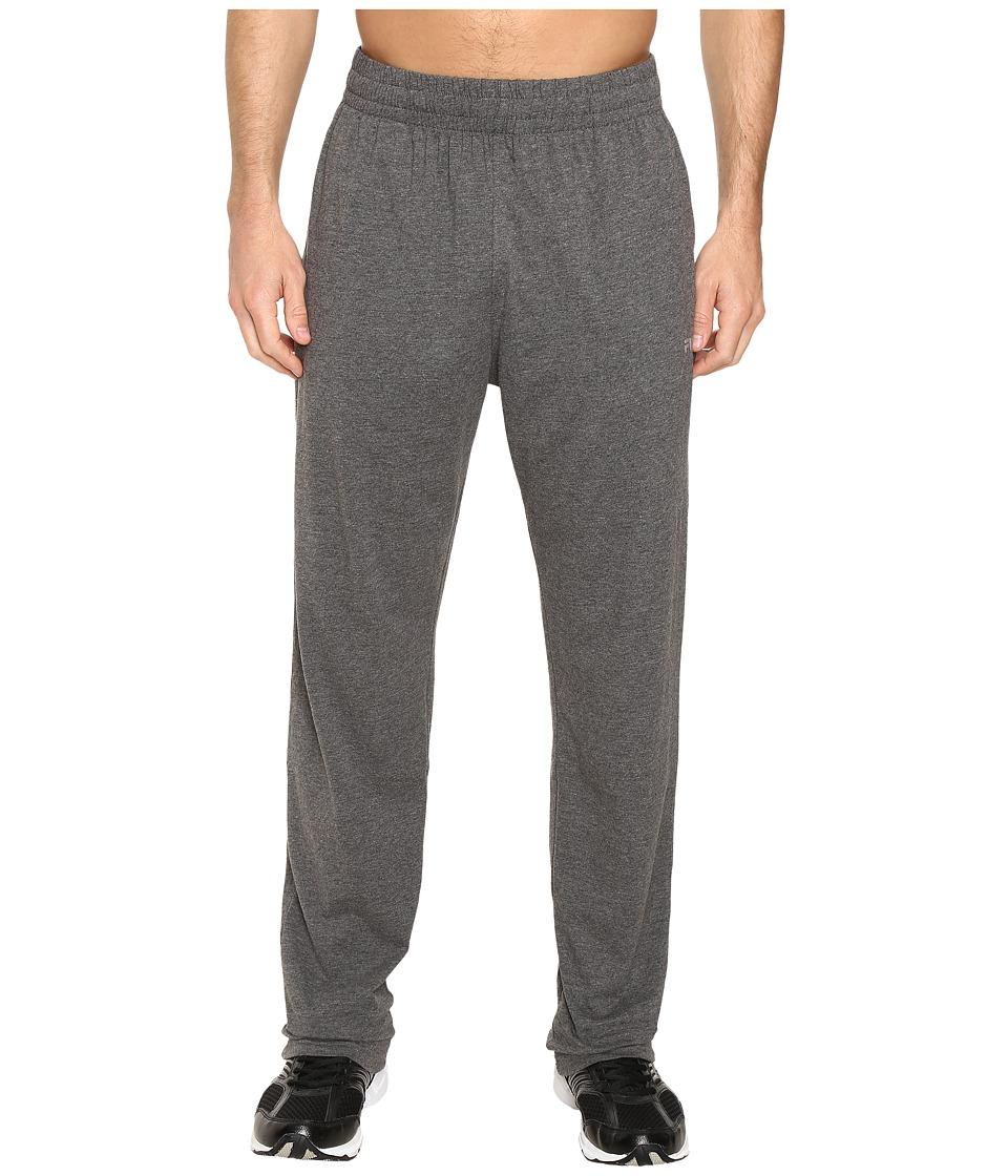 Fila - Basic Jersey Pants (Ebony Heather) Men's Casual Pants