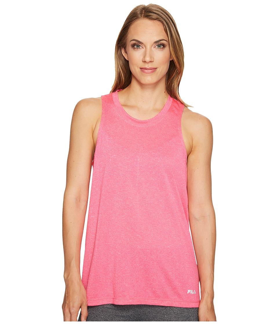 Fila - Flirty Loose Tank Top (Pink Panther) Women's Sleeveless