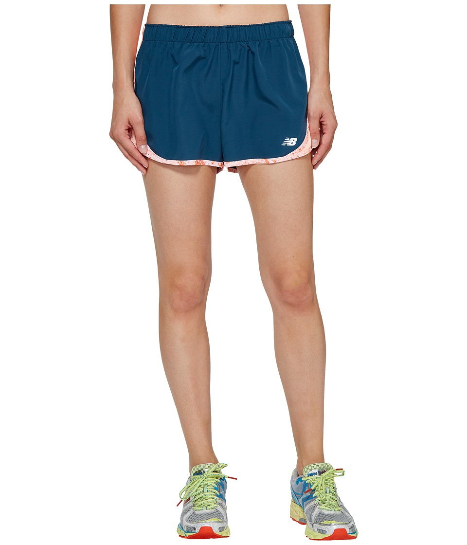 New Balance - Accelerate 2.5 Shorts (Bleached Sunrise) Women's Shorts