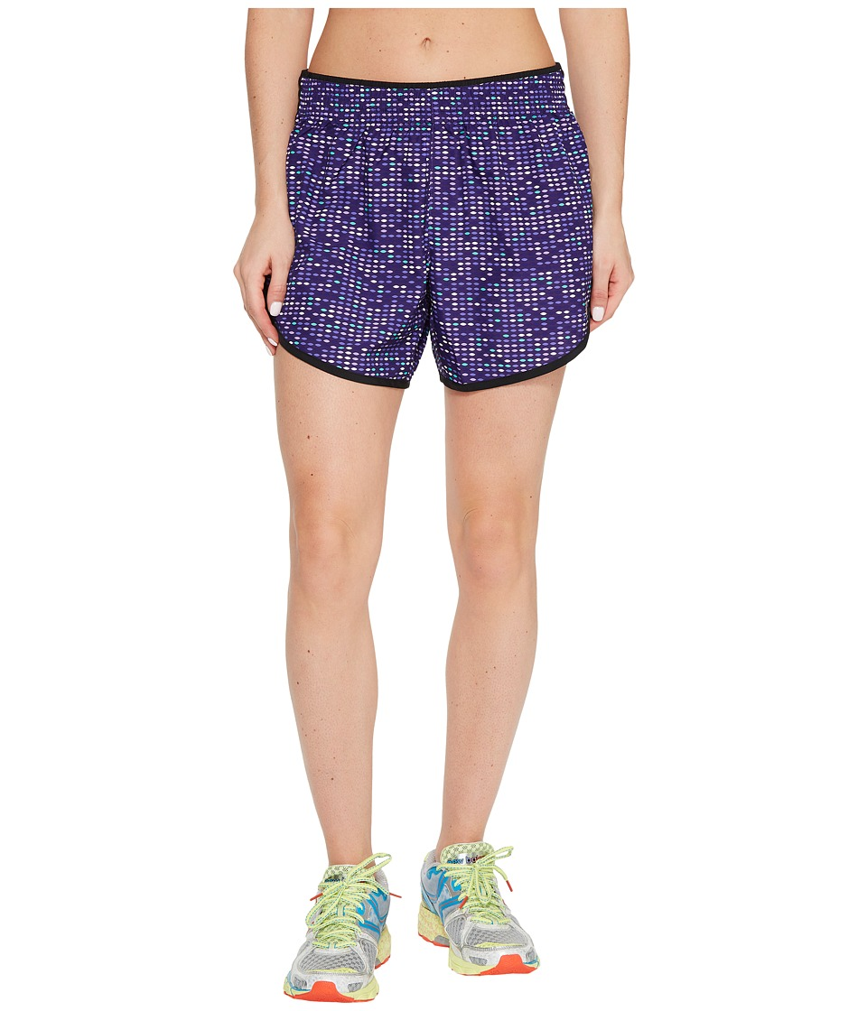 New Balance - Accelerate 5 Shorts (Black Plum Digital Ovals) Women's Shorts