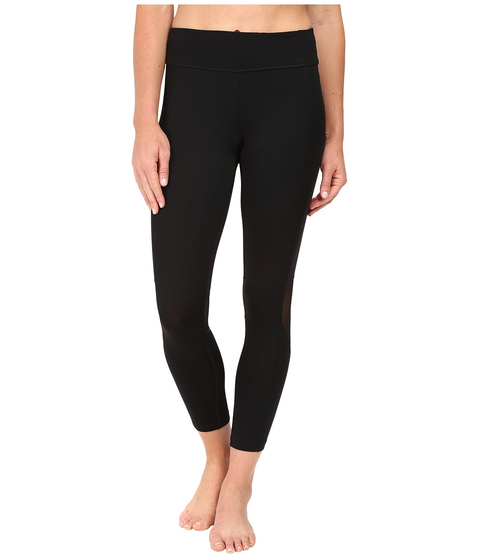 Fila - Bells Whistles 3/4 Tights (Black/Black/Black) Women's Casual Pants