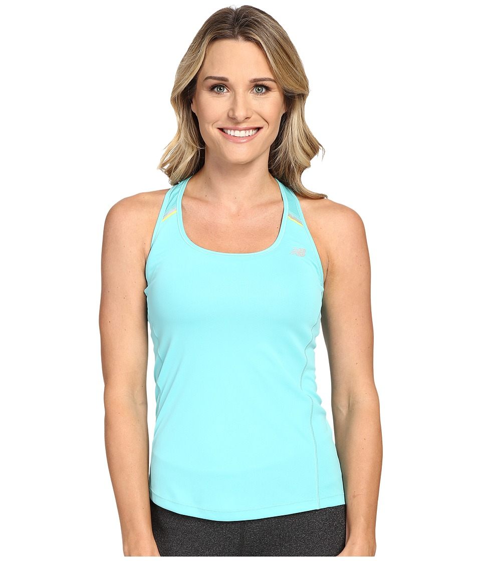 New Balance - NB Ice Tank Top (Agave Green) Women's Sleeveless