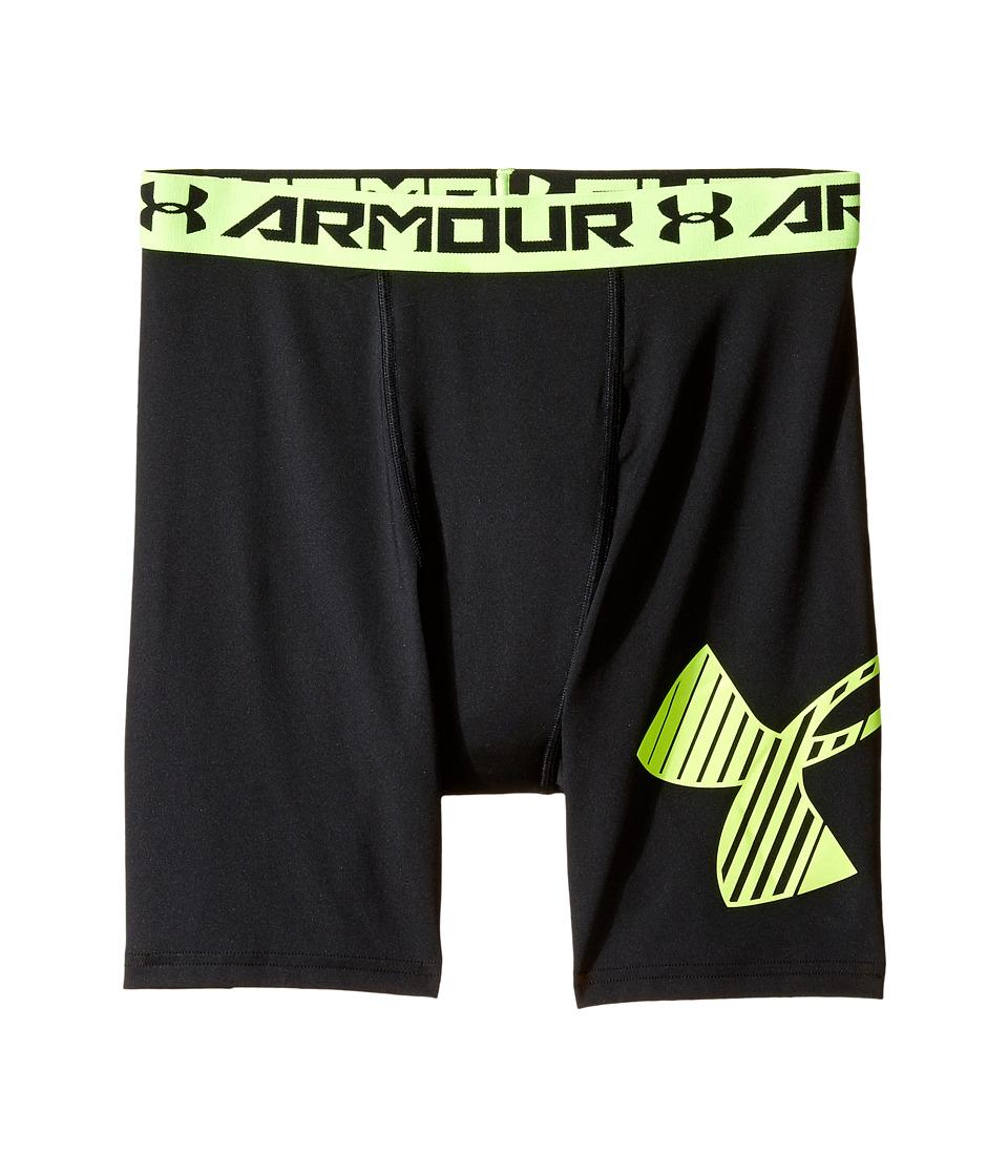 Under Armour Kids - Armour Mid Shorts (Big Kids) (Black 1) Boy's Shorts