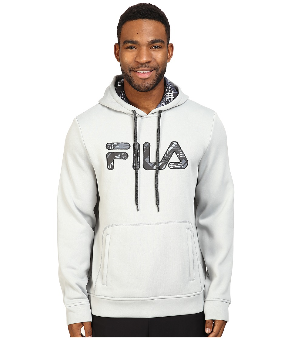 Fila - Geo Hoodie (High-Rise/Black) Men's Sweatshirt
