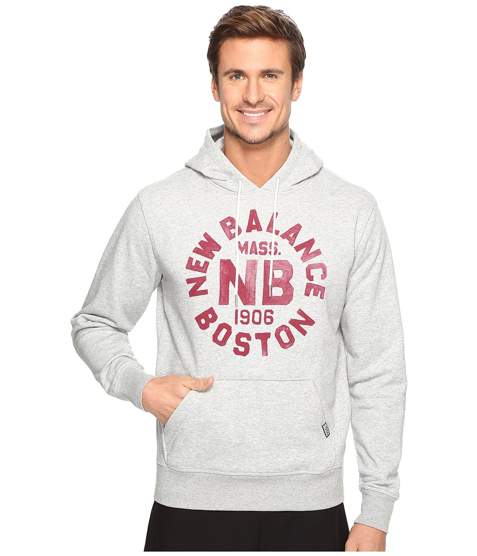New Balance - Classic Pullover Hoodie Graphic (Athletic Grey) Men's Sweatshirt