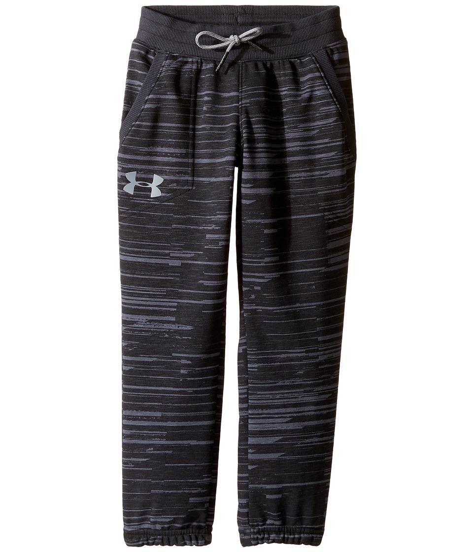 Under Armour Kids - Sportstyle Jogger (Big Kids) (Black Medium Heather) Boy's Casual Pants