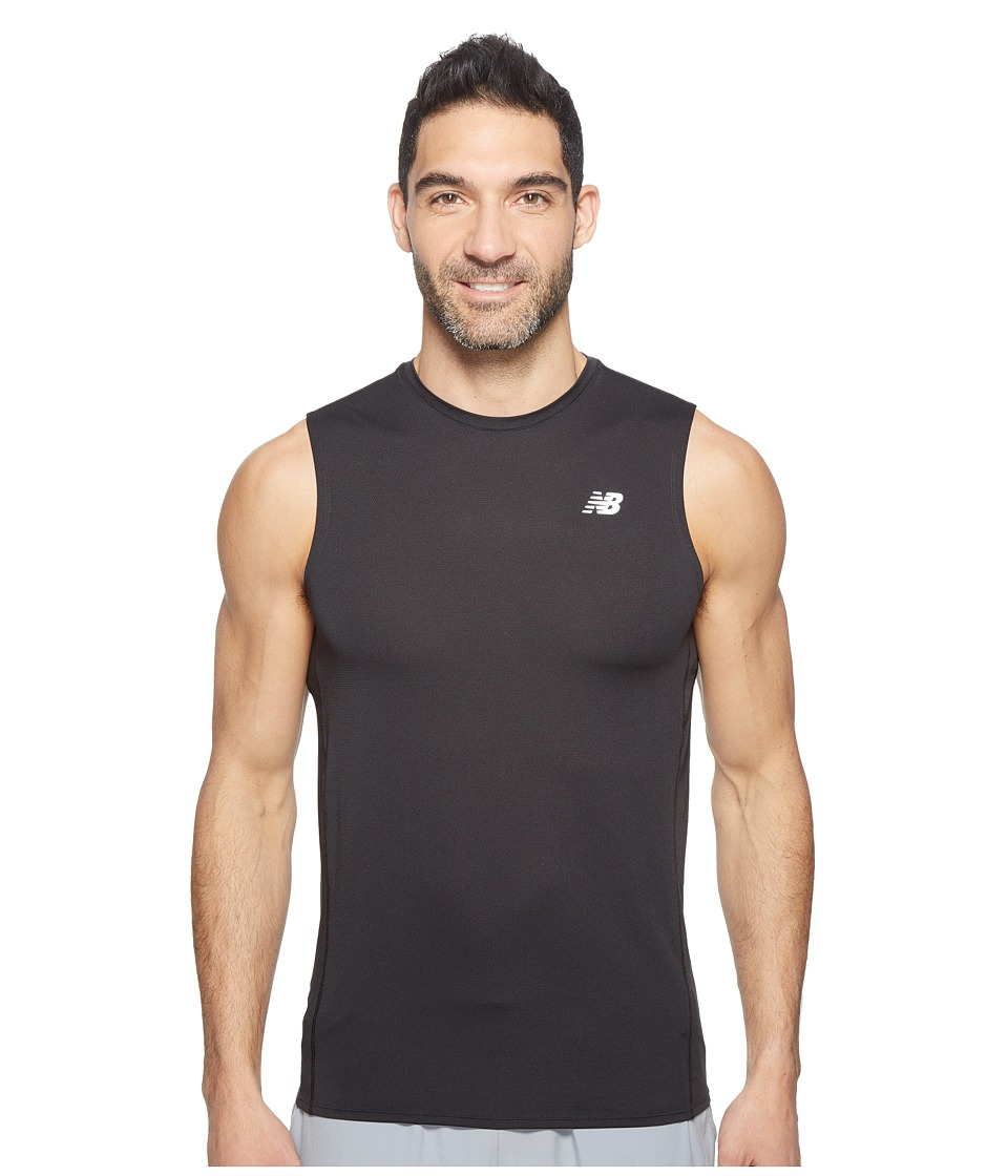 New Balance - Accelerate Sleeveless (Black) Men's Sleeveless
