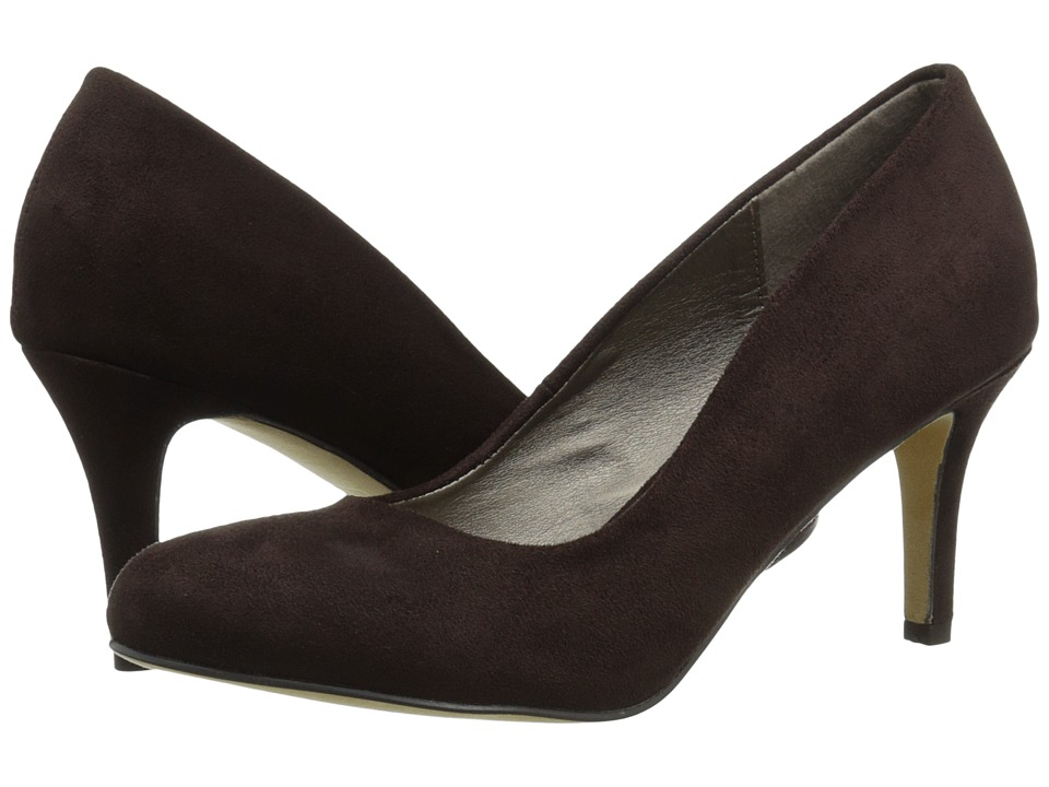 Michael Antonio - Finnea Suede (Chocolate) Women's 1-2 inch heel Shoes