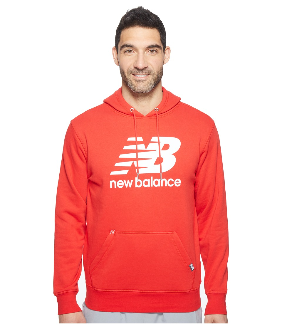 New Balance - Classic Pullover Hoodie (Alpha Red) Men's Sweatshirt