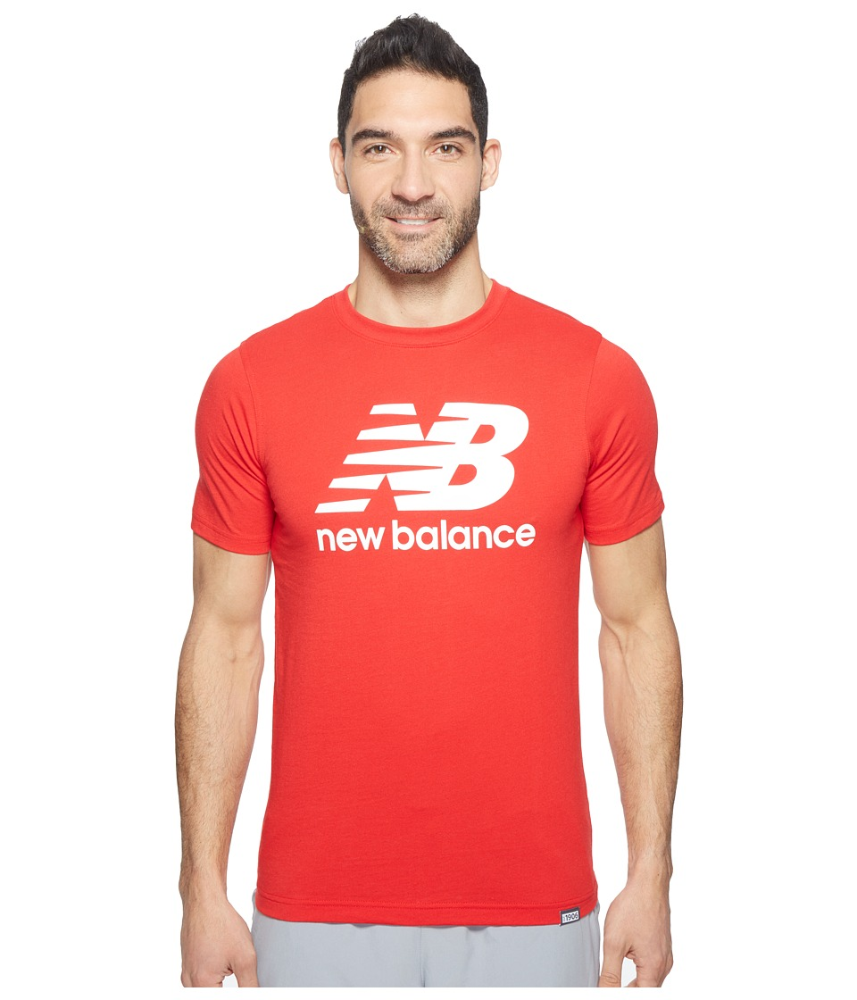 New Balance Classic Short Sleeve Logo Tee (Alpha Red) Men