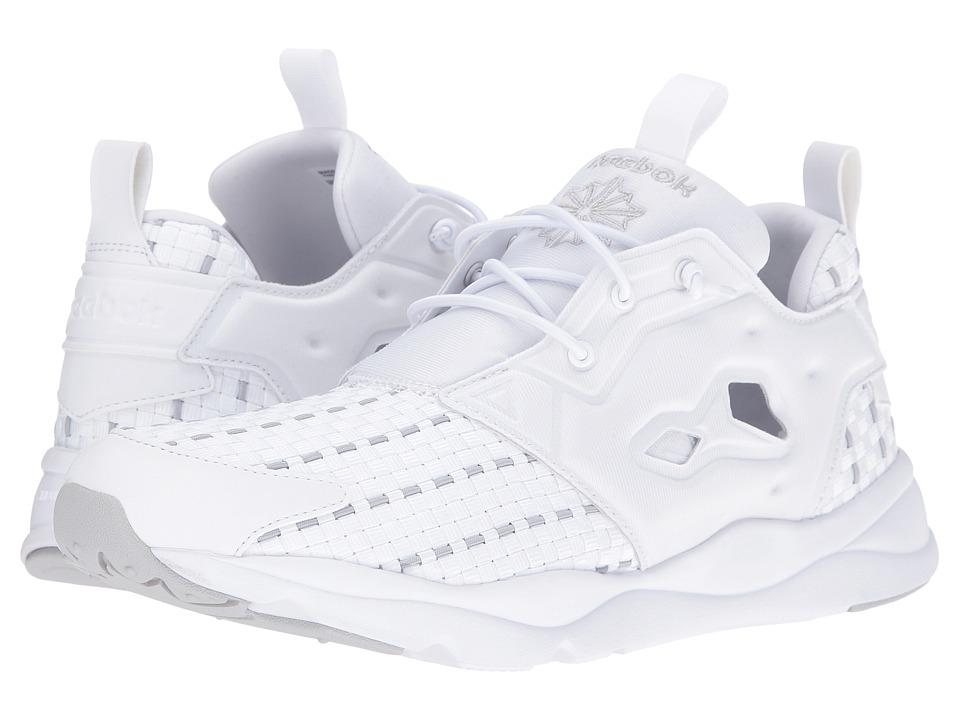 Reebok - Furylite New Woven (White/Steel) Men's Shoes