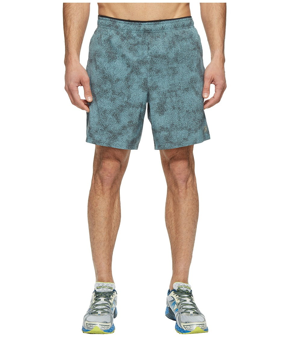 New Balance - Printed Woven 2-in-1 Shorts (Typhoon Print) Men's Shorts