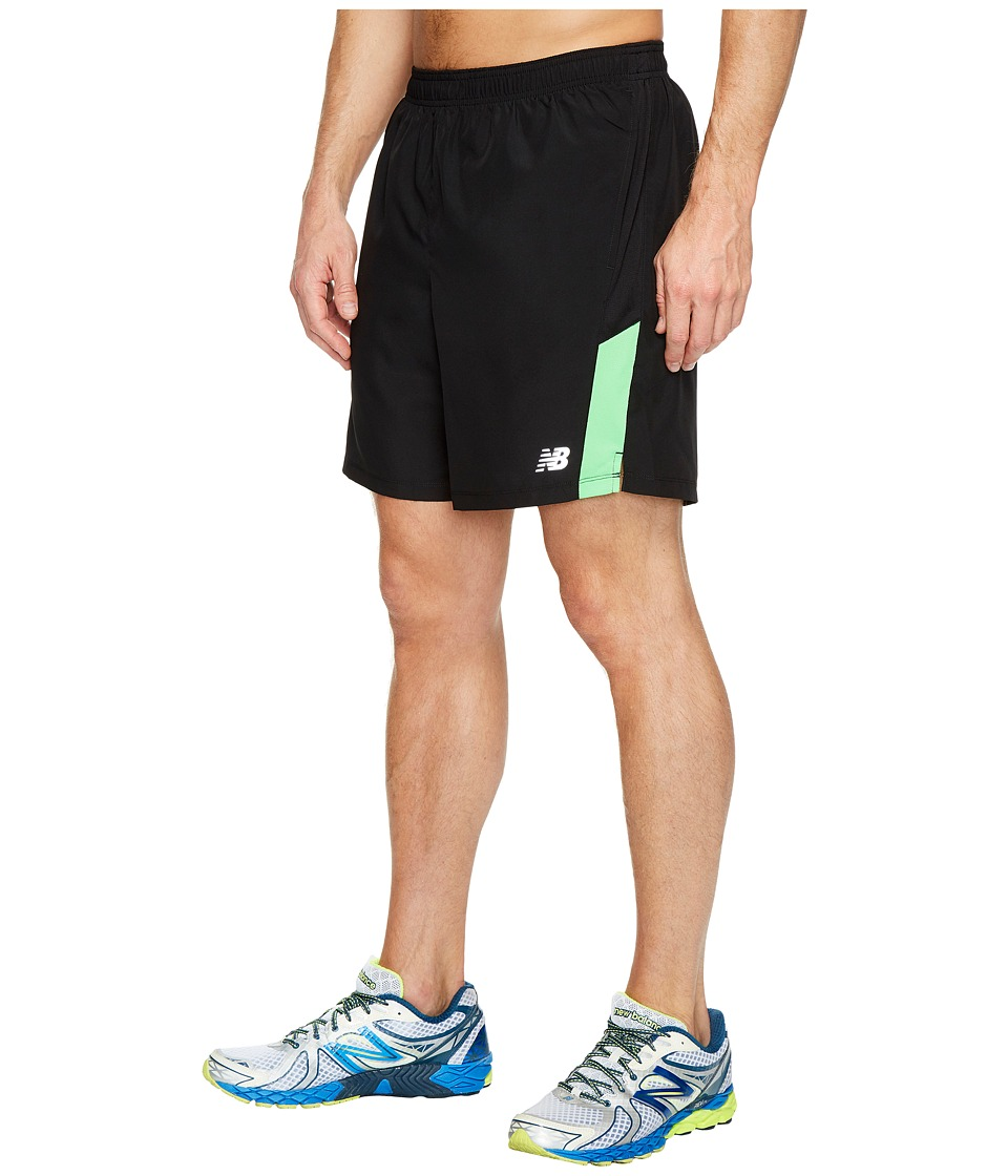 New Balance - Accelerate Shorts (Vivid Cactus/Black) Men's Shorts