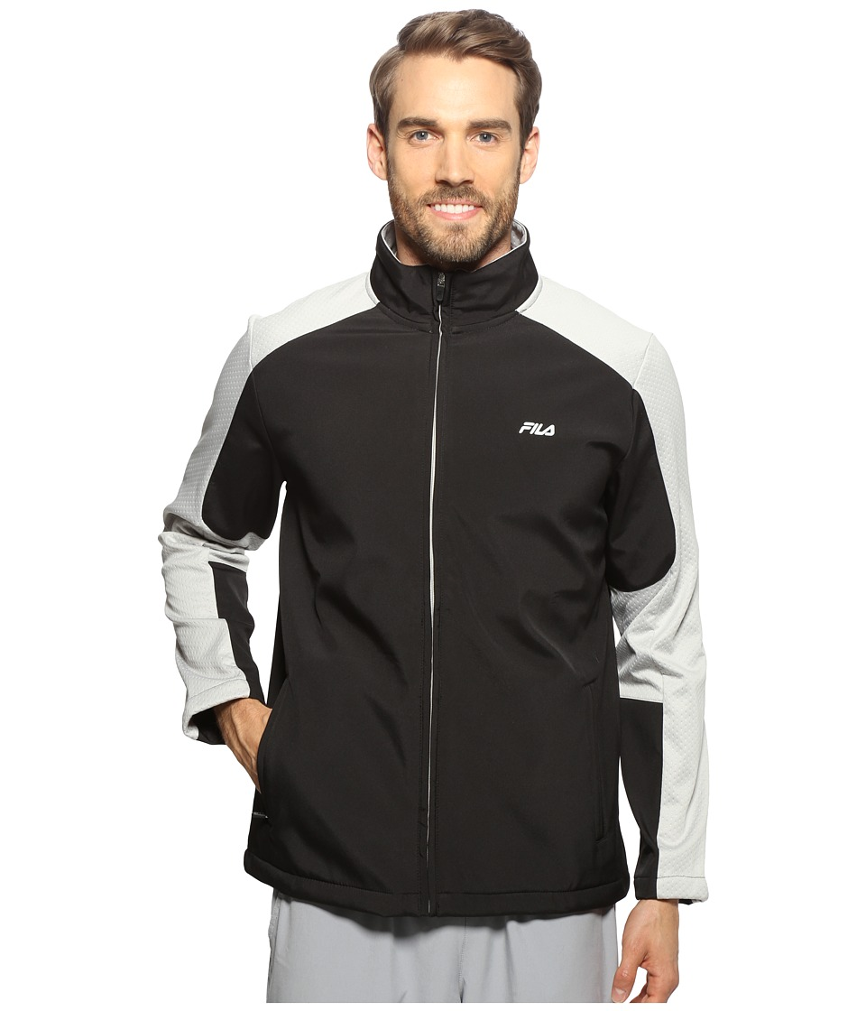 Fila - Smart Bonded Jacket (Black) Men's Coat