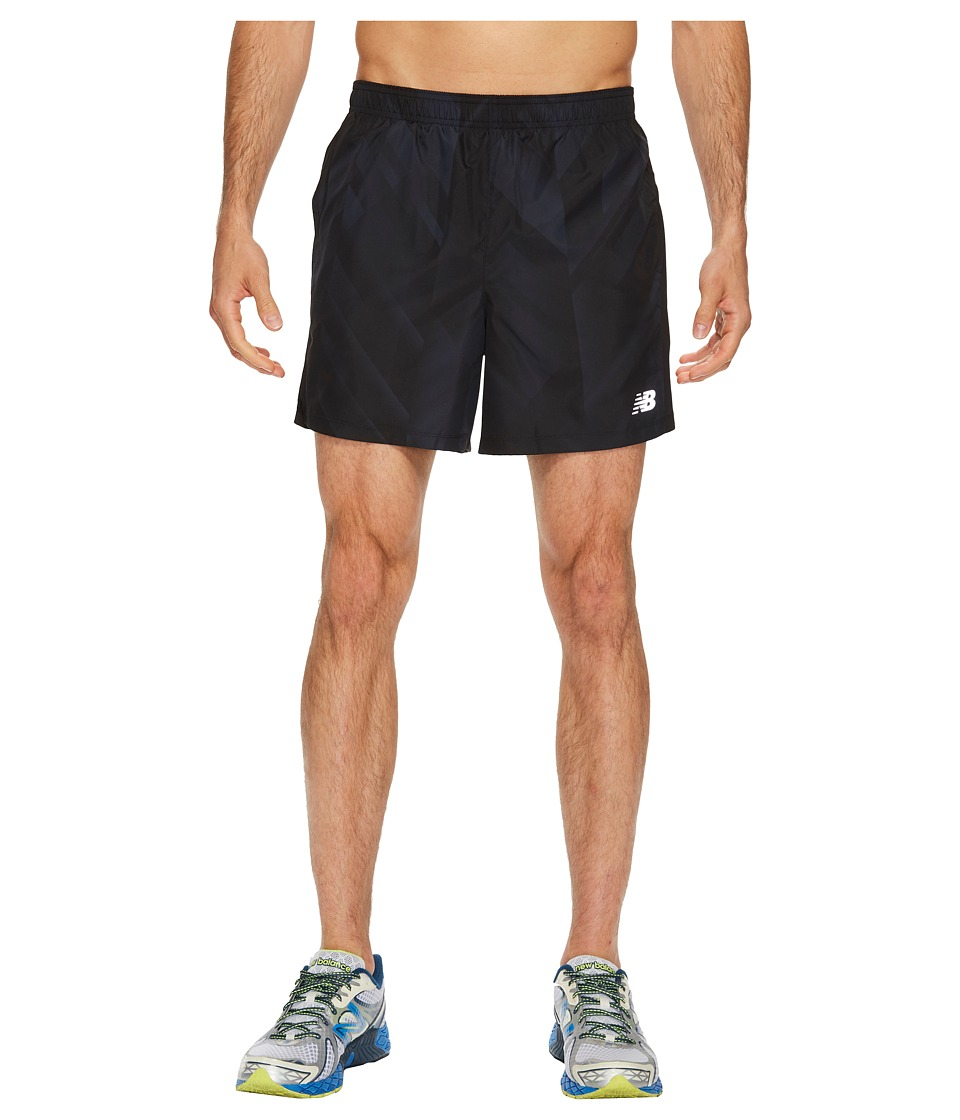 New Balance - Accelerate Shorts (Black Print/Outerspace) Men's Shorts
