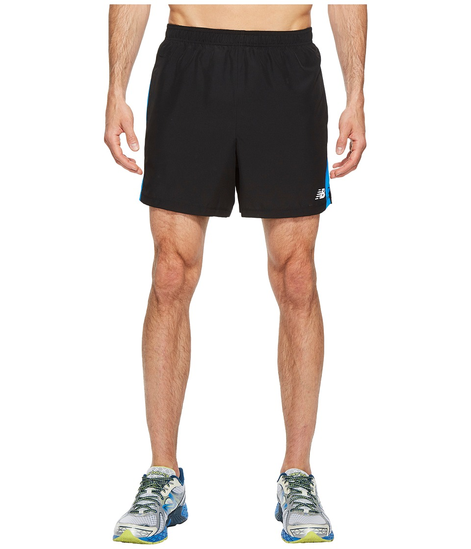 New Balance - Accelerate Shorts (Electric Blue/Black) Men's Shorts