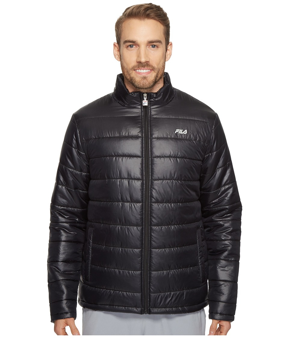 Fila - Dynamic Jacket (Black) Men's Coat