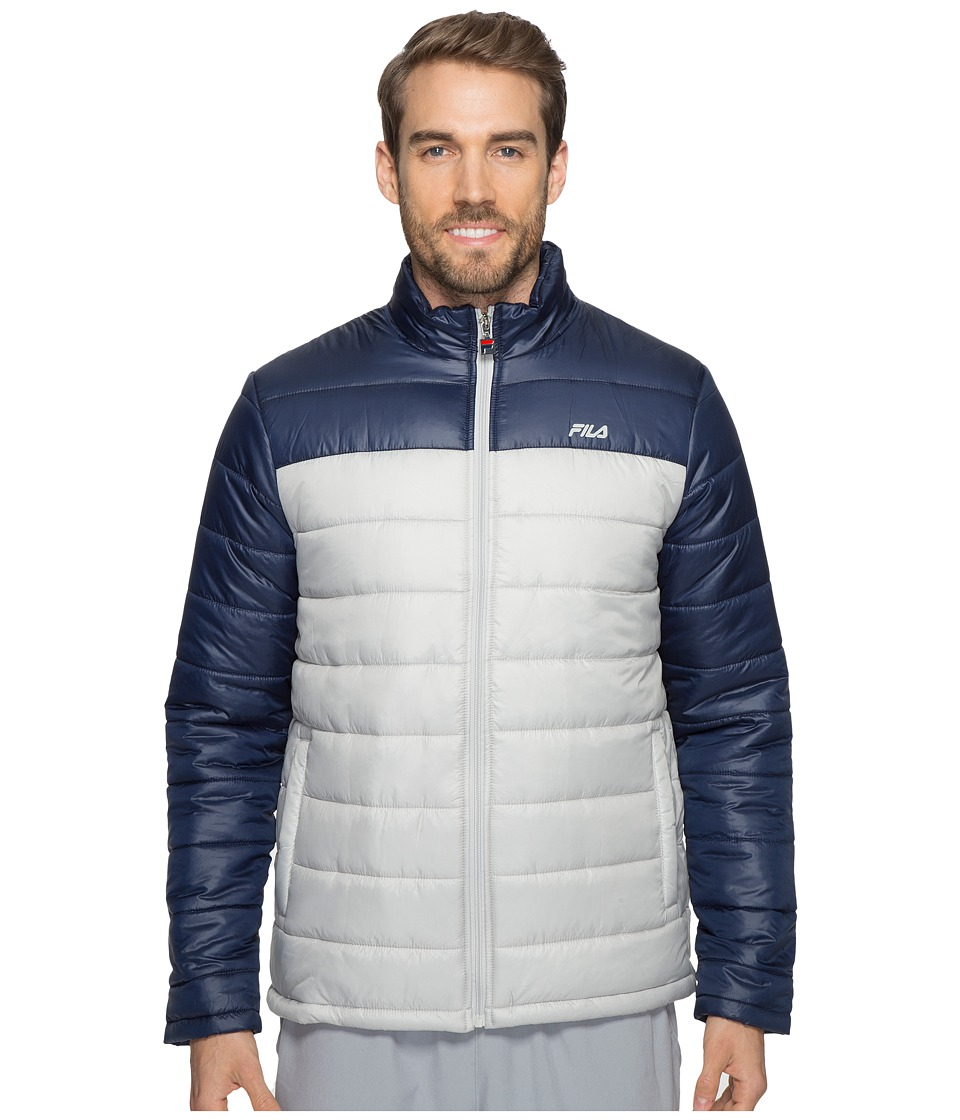 Fila - Dynamic Jacket (High-Rise/Navy) Men's Coat
