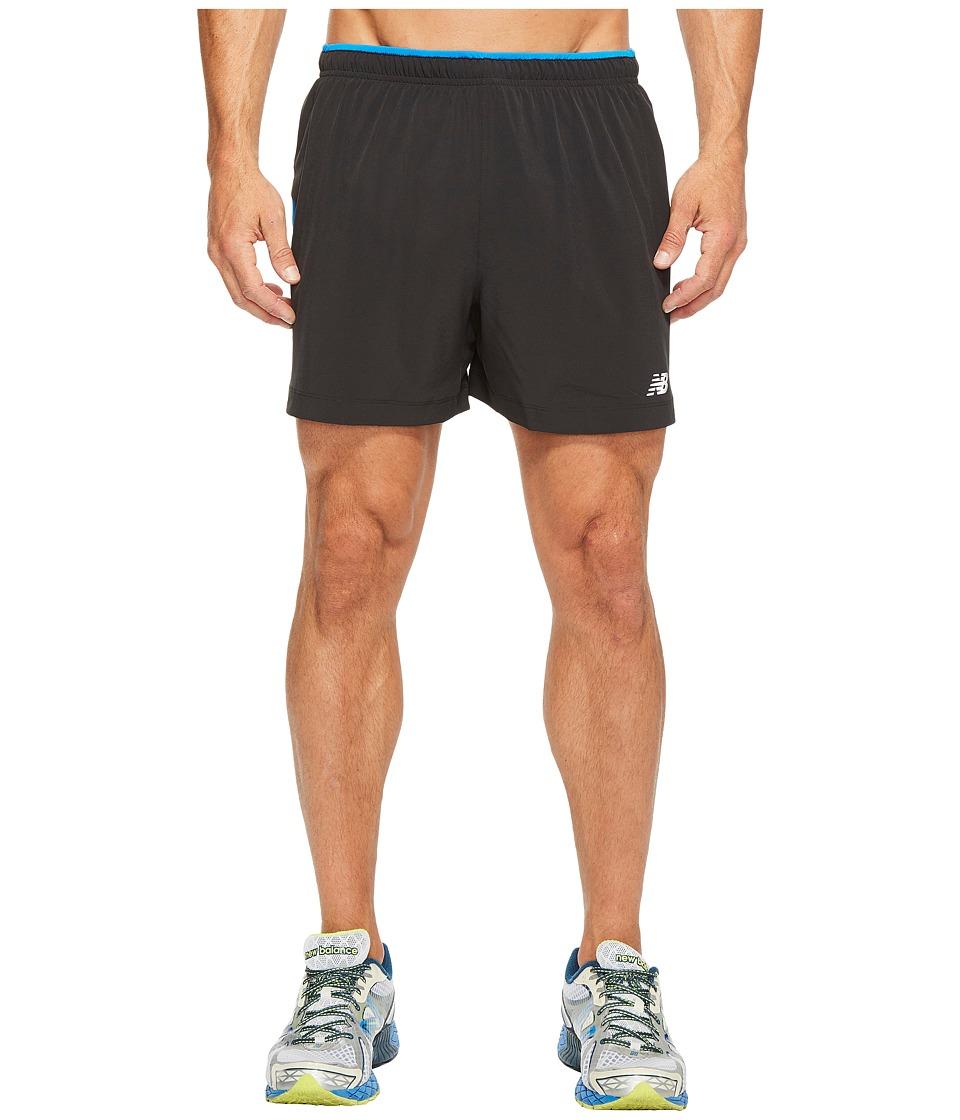 New Balance Impact Track Shorts (Electric Blue) Men