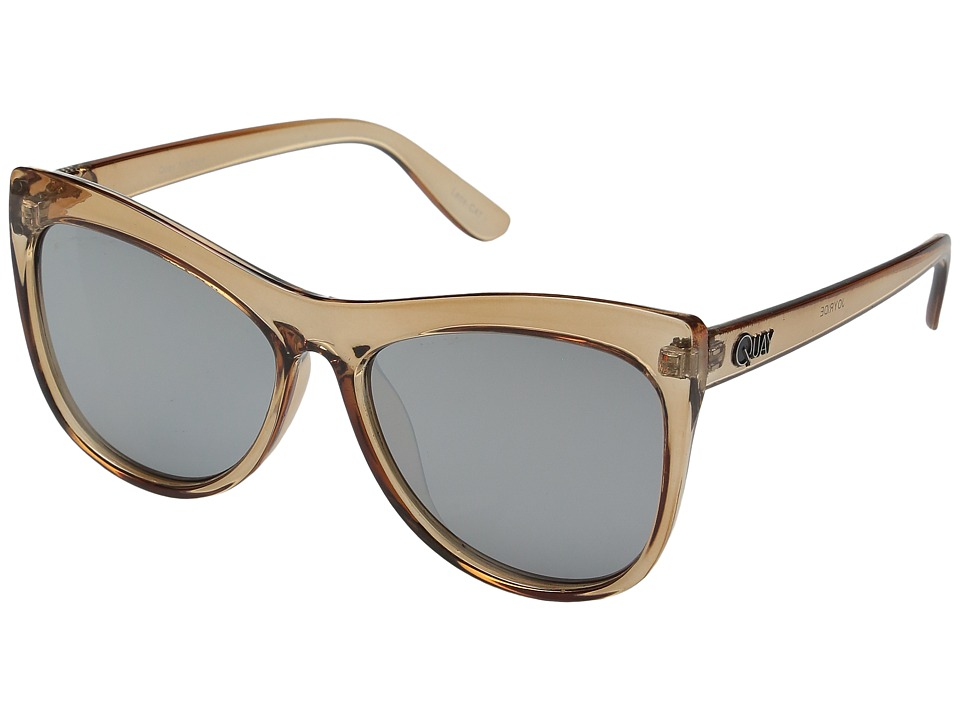 QUAY AUSTRALIA - Joyride (Peach/Silver Mirror) Fashion Sunglasses
