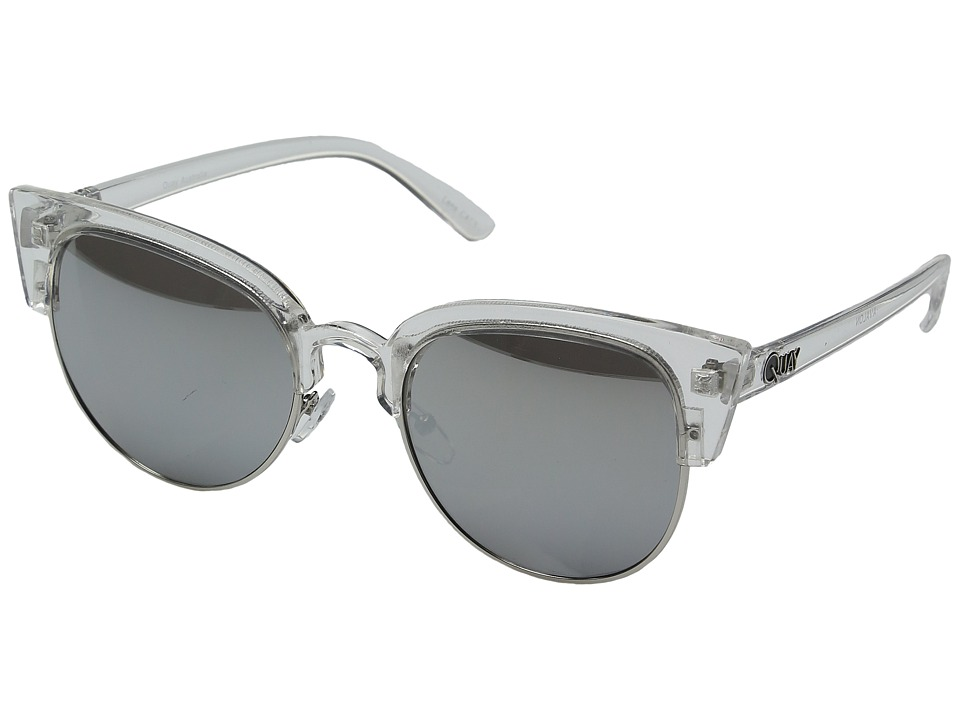 QUAY AUSTRALIA - Avalon (Clear/Silver Mirror) Fashion Sunglasses