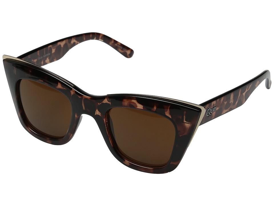 QUAY AUSTRALIA - Lovechild (Tort/Brown Lens) Fashion Sunglasses