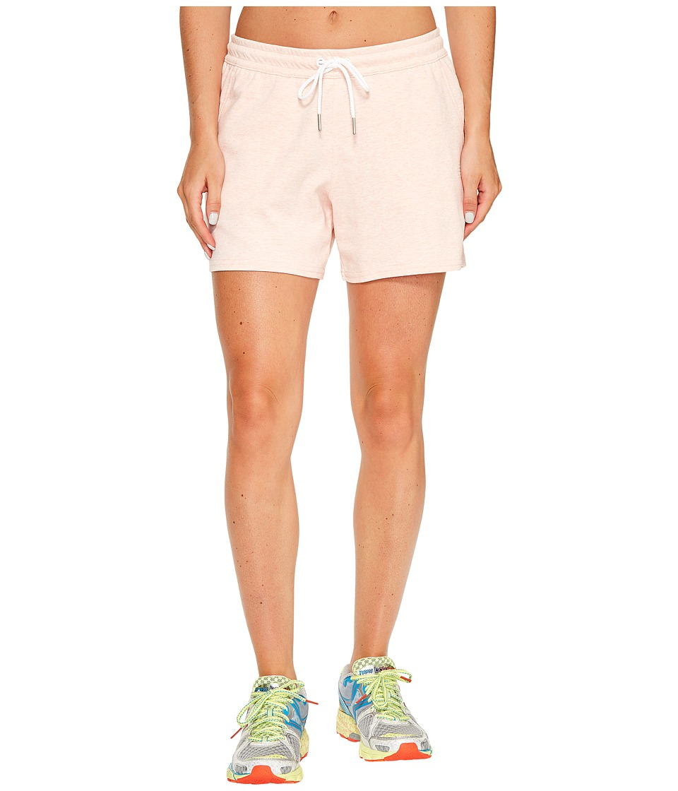 New Balance - Classic Fleece Shorts (Sunrise Glo) Women's Shorts