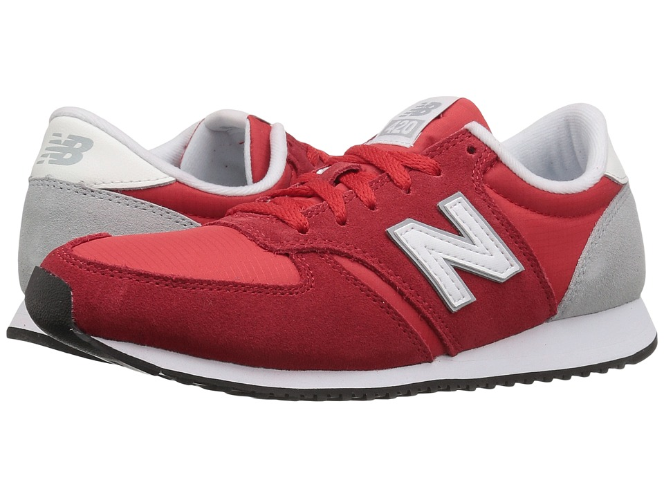 New Balance Classics - WL420v1 (Red/White) Women's Running Shoes