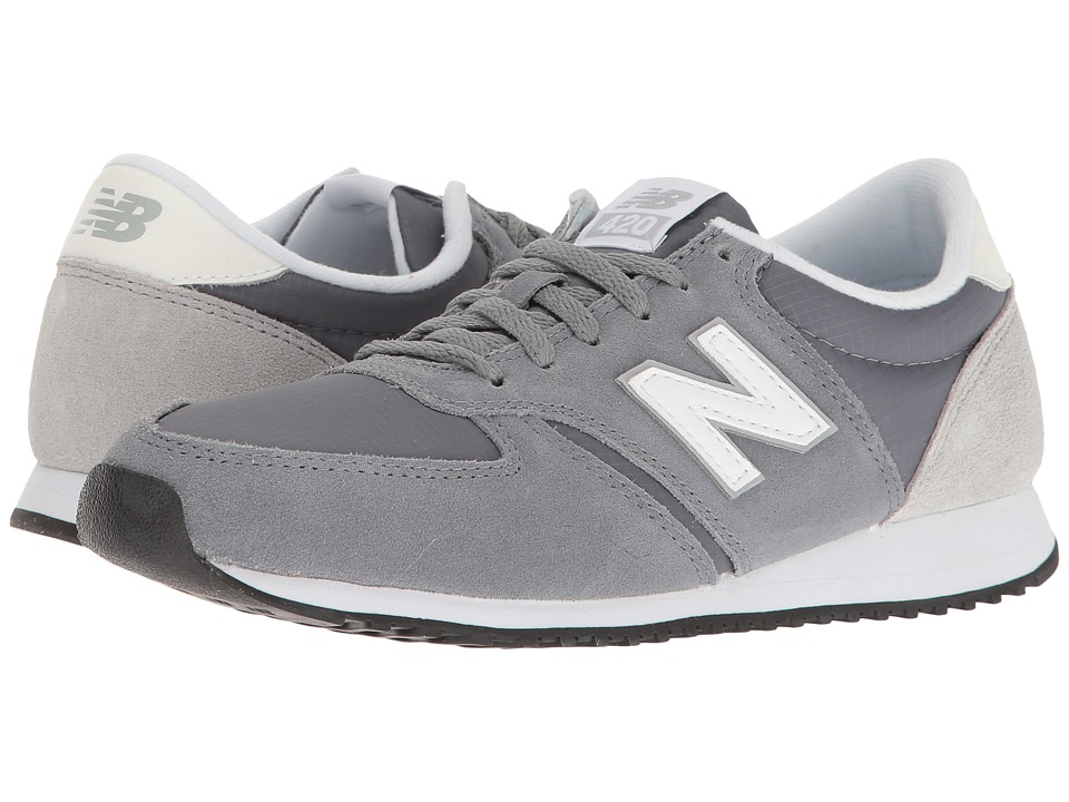 New Balance Classics - WL420v1 (Gunmetal/White) Women's Running Shoes
